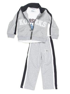Костюм спортивний: футболка, толстовка та штани | 576647