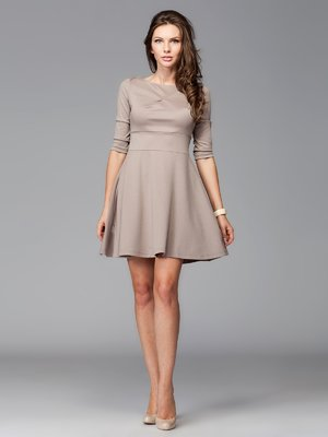 Сукня кольору мокко | 465241