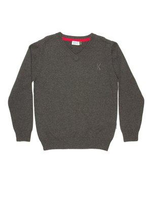 Пуловер темно-сірий | 514002