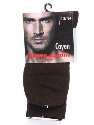 Шкарпетки темно-коричневі | 580085