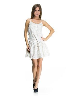 Платье светло-бежевое | 75049