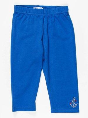 Легінси сині зі стразами | 467856