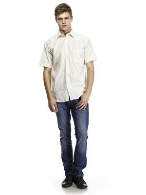 Рубашка светло-бежевая | 418366