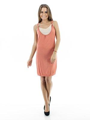 Платье-туника двухцветное | 75055