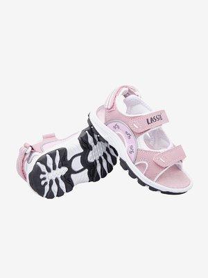 Сандалии розово-белые | 449943