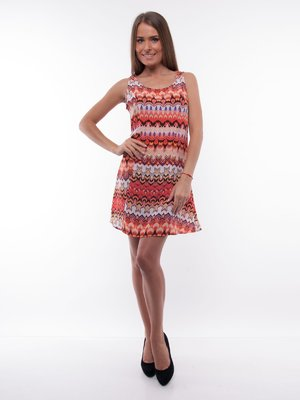 Платье оригинальной расцветки | 129449