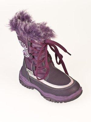 Ботинки фиолетовые   32693