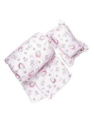 Комплект в детскую кроватку: одеяло и подушка | 482475