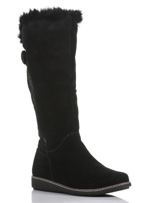 Чоботи чорні декоровані | 804750