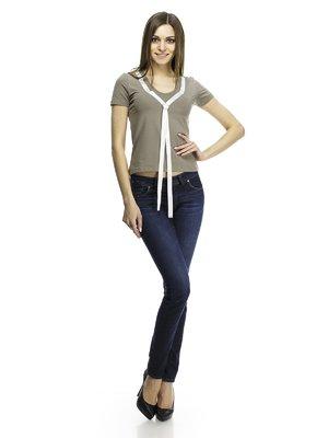 Блуза цвета хаки | 71221