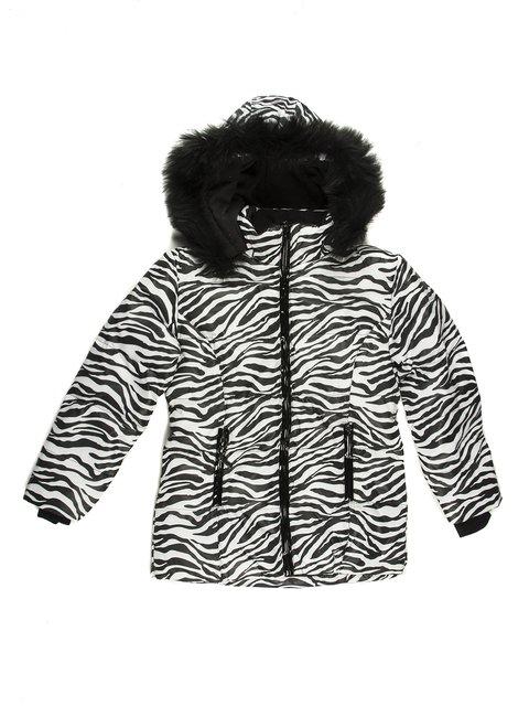Куртка анімалістичного забарвлення утеплена Stezo 712160