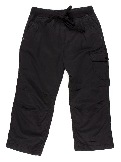 Штани чорні з написом De Salitto 854032