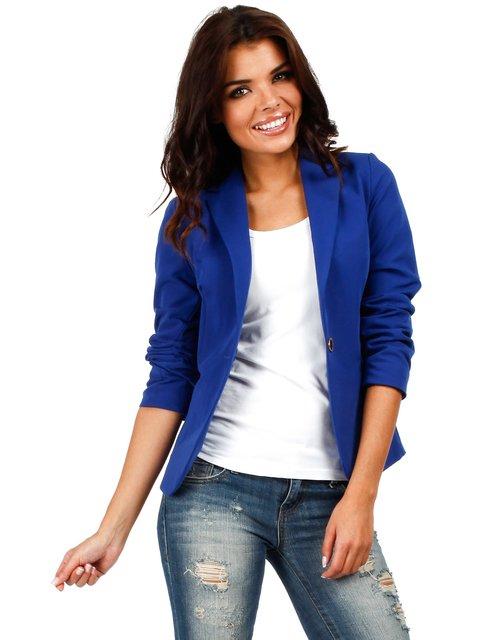 Жакет синій MOE 890615