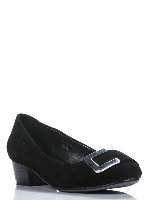Туфли черные с декором Belletta 907058