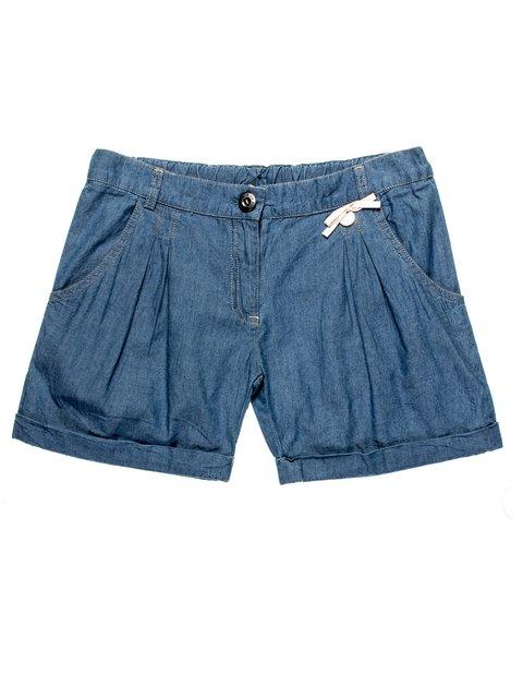 Шорты сине-голубые джинсовые De Salitto 959028