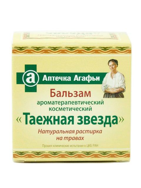 Бальзам ароматерапевтический «Таежная звезда» (75 мл) Аптечка Агафьи 609761