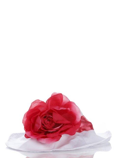 Панамка белая с цветком Doomagic 987139