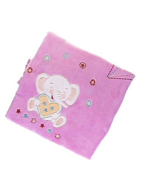 Плед двойной велюровый с вышивкой Мишутка 1001744