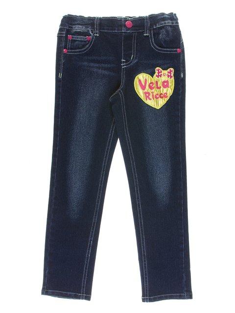 Джинси сині в аплікацією Vela Ricce 1039076