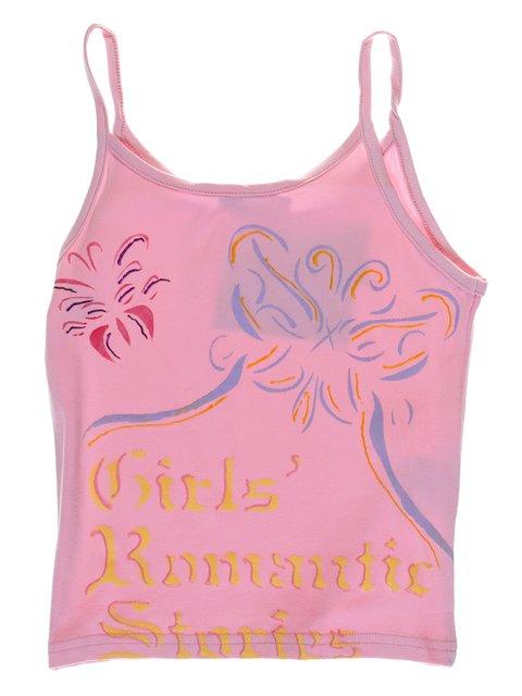 Майка рожева з принтом DAISY GIRLS 1051179