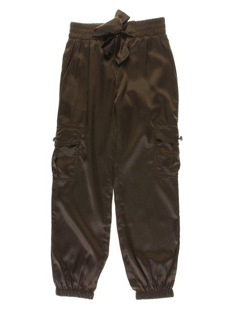 Штани кольору хакі De Salitto 1063610