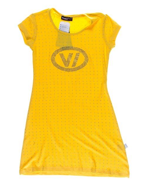 Туника желтая декорированная Wanex 1076907