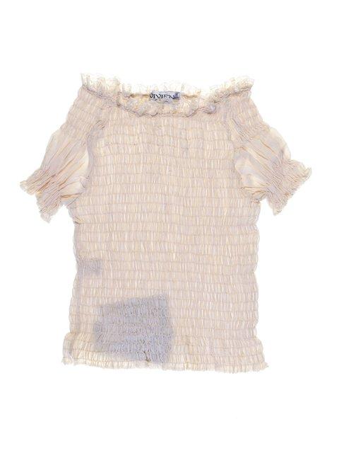 Блуза бежевая Vivien 1076748