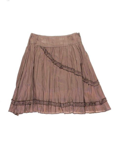 Юбка коричневая Vivien 1076811