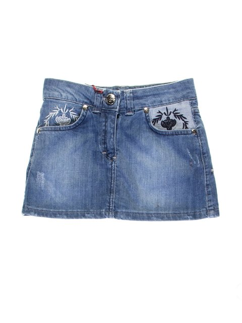 Спідниця синя джинсова VCP 1076938