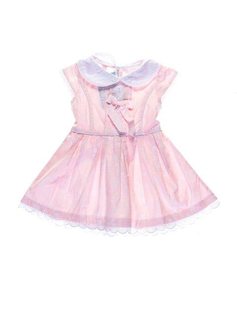 Платье светло-розовое в цветочный принт SHIBOWANG 1076898