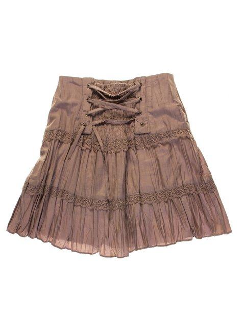 Юбка коричневая Vivien 1076823