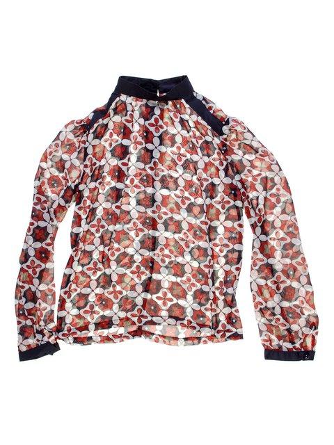 Блуза в квітковий принт MrK 1237074