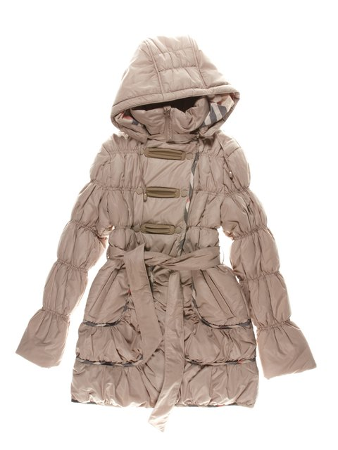 Пальто бежевое Biko&kana 1342437