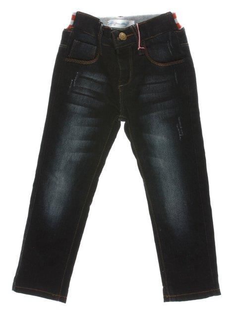 Джинсы темно-синие утепленные Olimpia 1342424