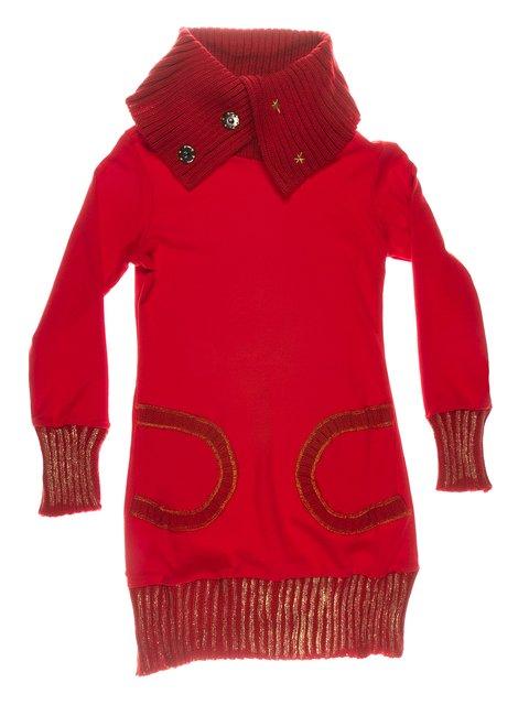 Сукня червона тепла ColaBear 649185
