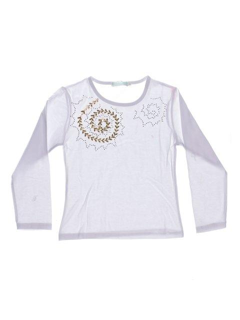 Джемпер білий з декором XinDa 1364937