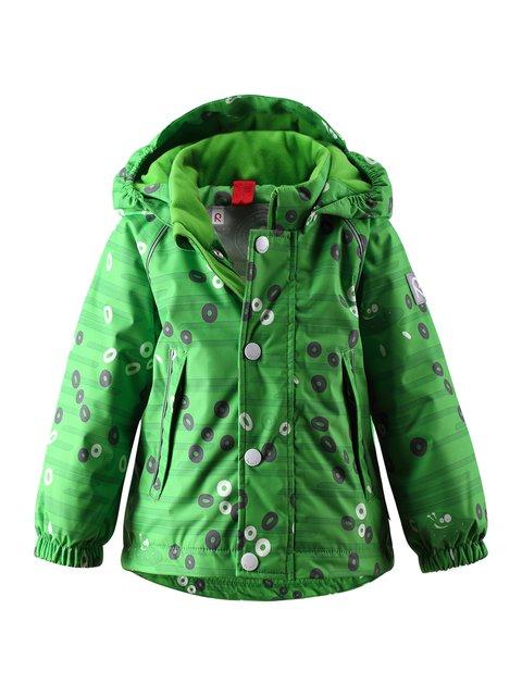 Куртка зелена в принт Reima 1378018