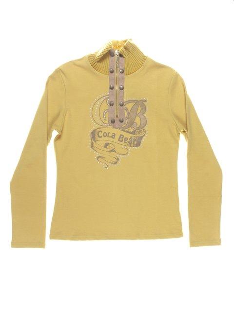Гольф жовто-фісташкового кольору ColaBear 712478