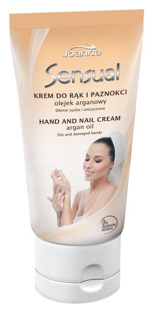 Крем для рук и ногтей Sensual с аргановым маслом (100 г) Joanna 1377901