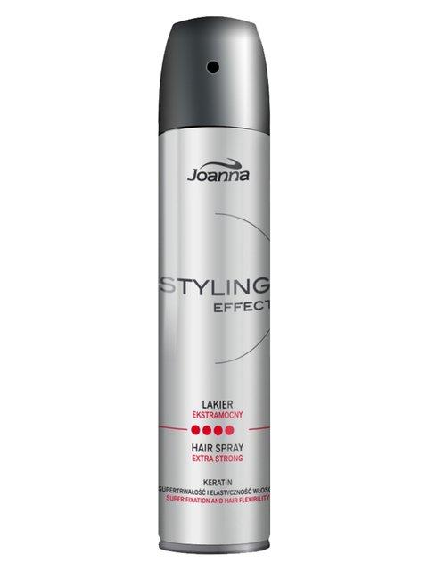 Лак для волос сверхсильной фиксации Styling Effect (250 г) Joanna 1377951