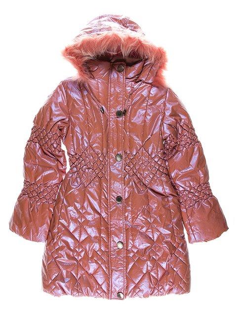 Пальто рожеве утеплене Levin Forse 1269897