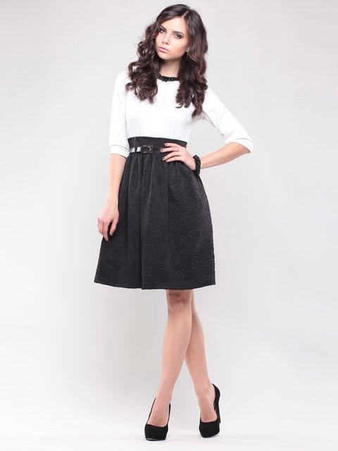 Сукня біло-чорна Maurini 1439033