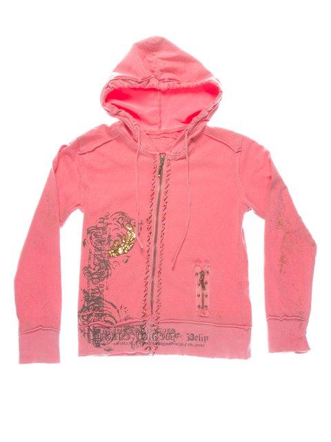 Кофта розовая с принтом CHELA 1457502