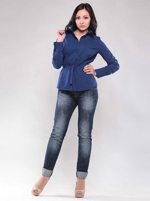 Блуза синя Maurini 1460428