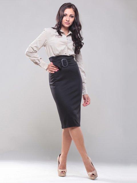 Платье черно-бежевое Dioni 1469238