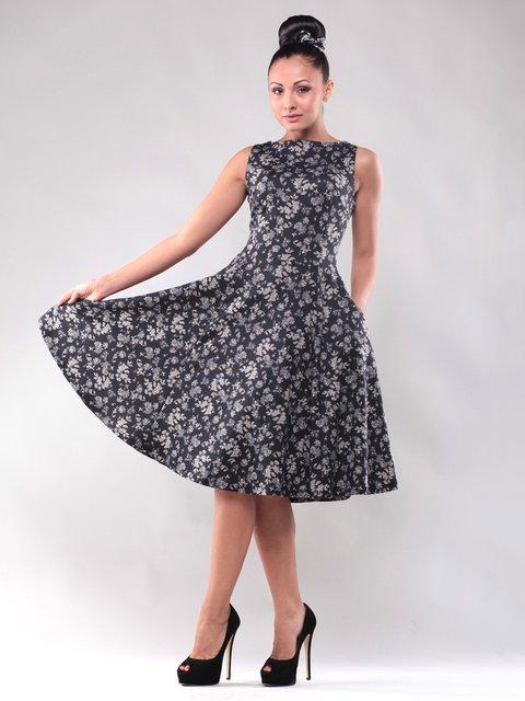 Сукня у флористичний принт Laura Bettini 1484416