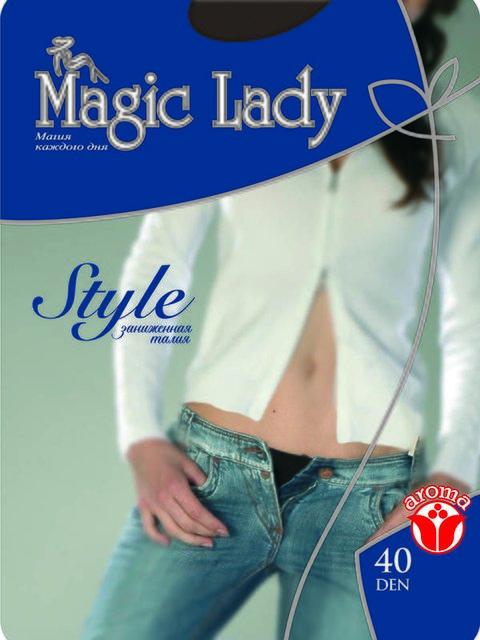 Колготки чорні 40 Den Magic Lady 1525101