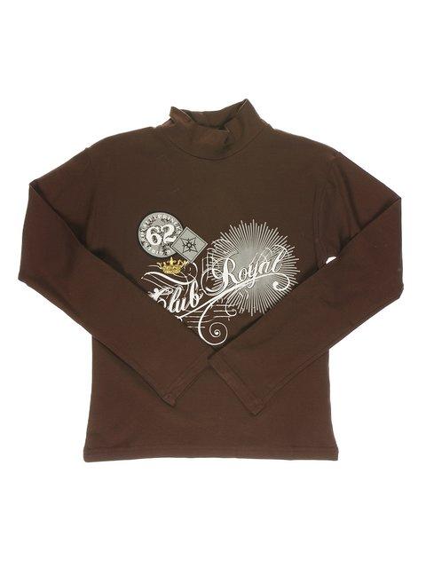 Гольф коричневый с принтом DAISY GIRLS 1466347