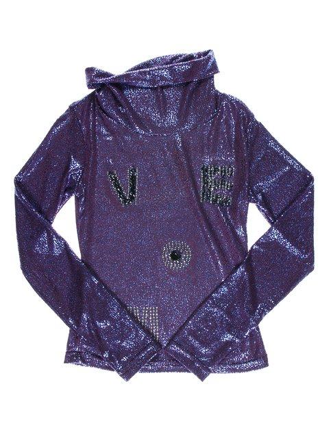 Гольф фиолетовый с декором Jojo 1504858