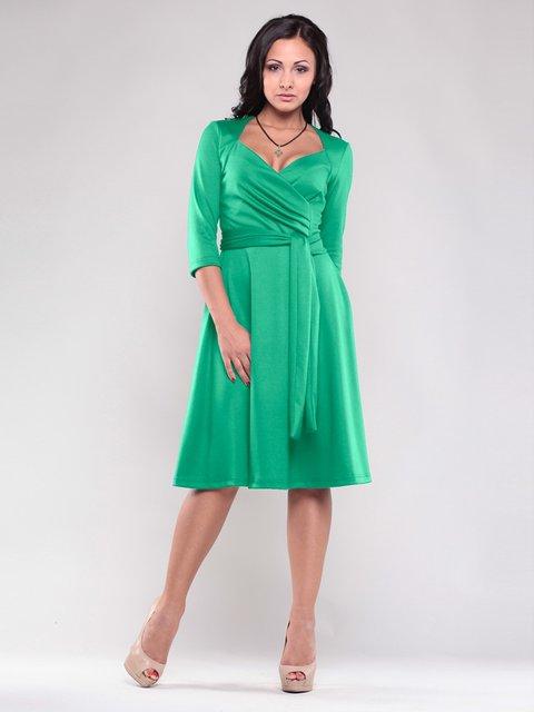 Платье зеленое Maurini 1545315